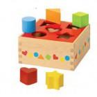 Caixa de formas sortidas de madeira -58580
