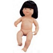 Boneca asiatica com cabelo 31056