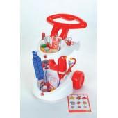 Carrinho de médico em plástico - 4315