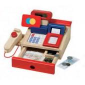 Caixa registadora em madeira - 51807