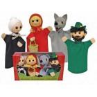 Colecção de fantoches capuchinho vermelho - 22757
