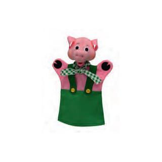 Fantoche do porco verde - 22649a