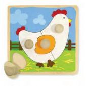 Encaixe a galinha - 53066
