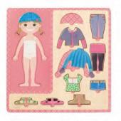 Puzzle vestir menina - 53108
