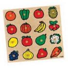 Puzzle encaixes fruta - 2202957