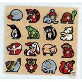 Puzzle encaixes animais - 2202958