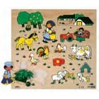 Puzzle encaixes quinta - 2202960