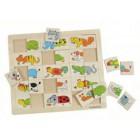 Puzzle dos animais divertidos - 11006