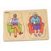 puzzle crescimento avó e avô - 17052