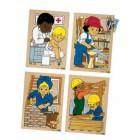 Puzzle sociedade construir em conjunto - 2203189