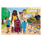 Familia no mercado 2203528
