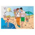 Famila na praia 2203529