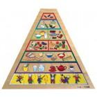 Puzzle pirâmide dos alimentos - 2203017
