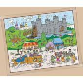 Puzzle cavaleiros - 2203171