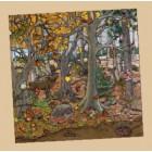 Puzzle floresta outono inverno - 2203177