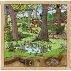 Puzzle floresta primavera verão - 2203179