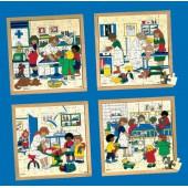 Puzzle saúde primeiros socorros - 2203417