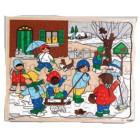 Puzzle estações 37.5x30 inverno - 2203007