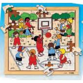 Puzzle desportos basquetebol - 2203486