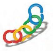 Balde 120 peças links- 31712