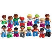 Lego conjunto de personagens da comunidade 45011