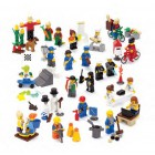 Lego mini-personagens do dia-a-dia - 9348