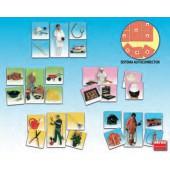 Jogo de associação as profissões - 20560