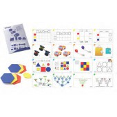 Conjunto de blocos lógicos 60 peças 95042