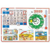 Calendário escolar português 30155 por