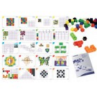 Conjunto de 100 cubos 2cm + 20 atividades 95203