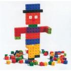Conjunto de 100 cubos encaixáveis de 2cm - 12010
