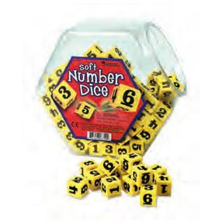 Dado de números ler 6350