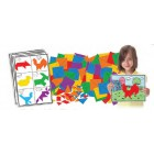 Mosaicos artisticos puzzle tangram1152509