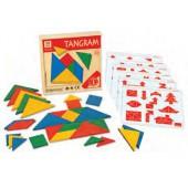 Caixa com 4 tangram- 4 cores 53376