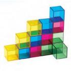 Peças construção transparentes - 3020205