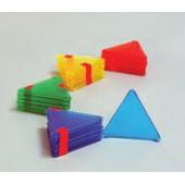 Conj. de 10 triângulos equiláteros - es04