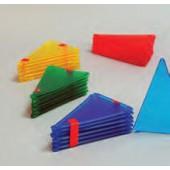 Conj. de 12 triângulos isósceles - es05