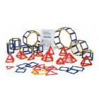 Polydron conj. prismas e piramides - 10-3067f