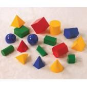 Conjunto de 17 sólidos - 21310
