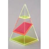 Pirâmide 4 faces seccionada - 655