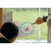 Termómetro de janela - swth