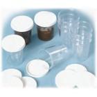 Conjunto de potes em plástico - sppot