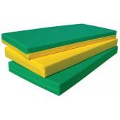 Colchão 180 x 70 x 6 cm ref.ª 90 - amarelo