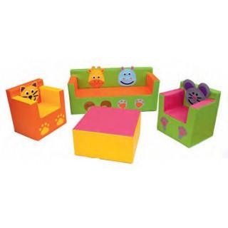 Conjunto de sofas os animais - 3106
