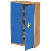 Armário fechado na(i) 100x43,5x160 cm