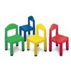 Cadeira plástica verde