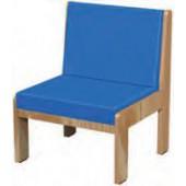 Sofá individual sem braços madeira - cc01mb(i)