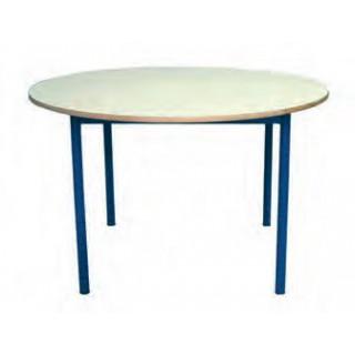 Mesa circular est. verde 120x40 cm