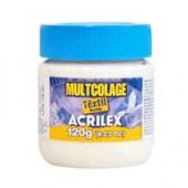 Acrilex multicolage textil 120ml