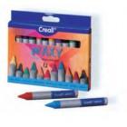 Caixa lápis cera 12 grossos 08340